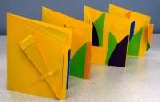Accordian - Yellow Shapes
