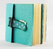 Tourquoise Book with Tab