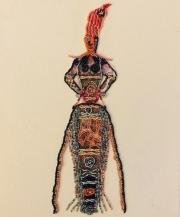 Bead Embroidery - Zelda