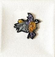 Bead-Embroidery-Lonley-Bird