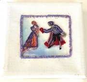 Bead Embroidery-Lady & Lord