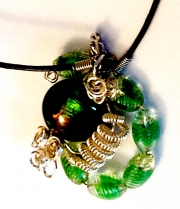 Necklace - Beads & Wire 02