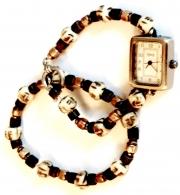 Set - Beaded Watch & Bracelet