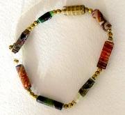 Bracelet Paper Beads 01