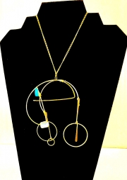 Necklace Large Bead Design 08