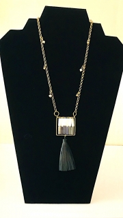 Necklace with Tassel 01
