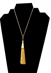 Necklace with Tassel 02