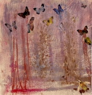 Nature Print - Butterfly Forrest