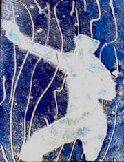 Blue Man Marching 02