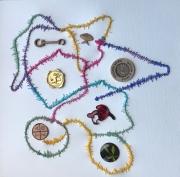 Japanese Embroidery Thread Surrounding Stuff